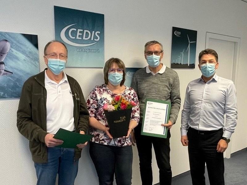 CEDIS Dienstjubiläum 2021 | Foto: Cedis GmbH